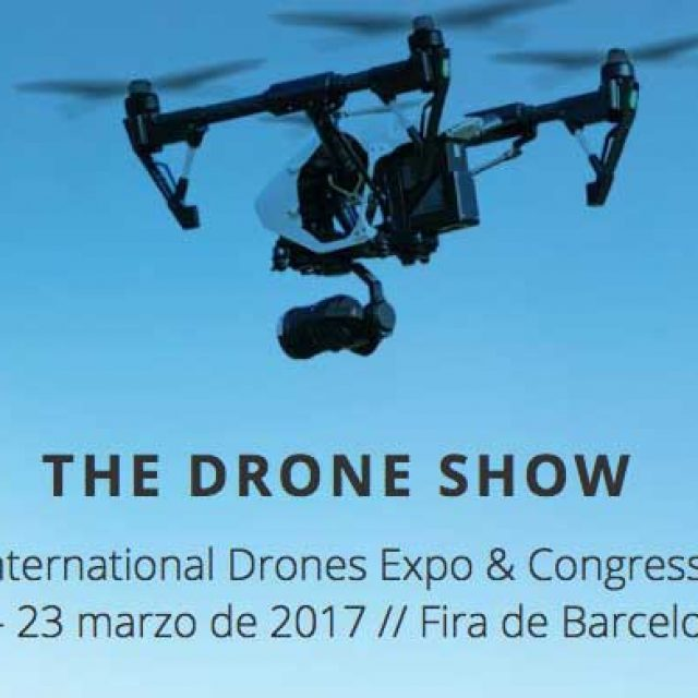 Congreso the drone show en barcelona